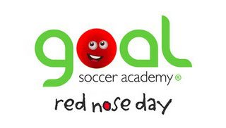 Goal soccer academy red nose day, kids, soccer